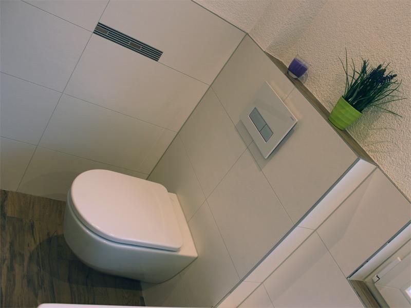Traumbad mit Toilette